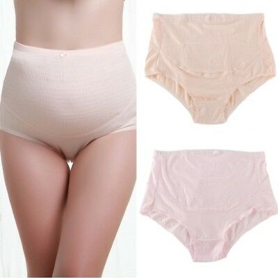 Pregnant Womens Maternity High Waist Briefs Underpants Shorts Panties Knickers