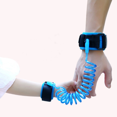 1pc Rubber Kids Safety Leash Anti Lost Wrist Traction Rope Elastic Harness Strap