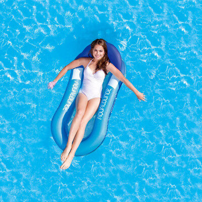 Swimming Pool Inflatable Floating Bed Water Hammock  Float Summer Relaxing