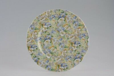 "Queen's Fine Bone China English Chintz Bread&butter/salad/dessert 8"" Side Plates"