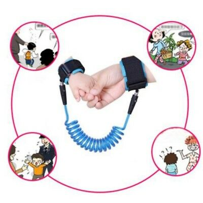 Kids Baby Safety Anti-lost Strap Walking Harness Toddler Wrist Band Leash Belts