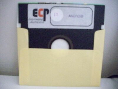 Ecp - Android  Commodore 64 / 128 Vintage -  Game - Floppy Disc
