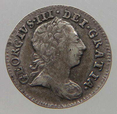 GREAT BRITAIN 1 PENNY 1772  MAUNDY #t40 421