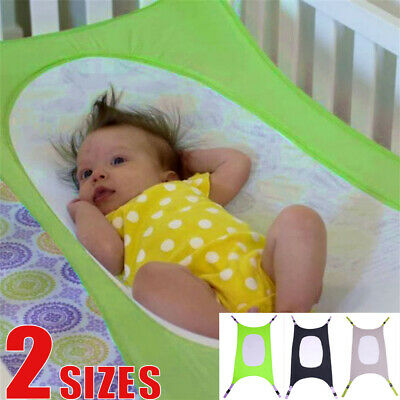 Portable Baby Folding Sleeping Naping Cot Bed Travel Playpen Hammock Holder Cri
