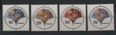 Singapore '70/'80 4 serie cpl nuove integre MNH (N595)