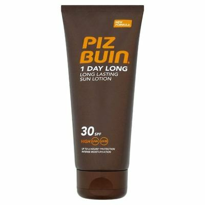 Piz Buin 1 Day Long Protection Lotion SPF 30 100ml (PACK OF 2)