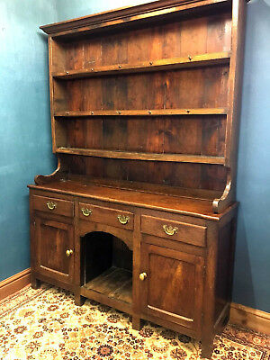 Beautiful 19th Century Welsh Oak Dog Kennel Dresser - Delivery Available