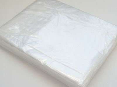 Clear Polythene Plastic Bags Sizes Crafts Food - 100 Poly All Size