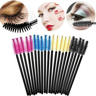 Silicone Disposable Makeup Brushes Mascara Wands Curel Extension Applicator Tool