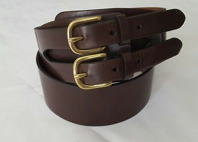 American Living Women´s Brown Leather Belt, Size M