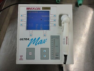 EXCEL UltraMax Ultra SX Therapeutic Ultrasound - Physical Therapy