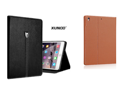 Genuine Soft Leather XY Smart Case Stand Magnetic Cover for Apple iPad Air 2