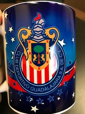 Custom Made Chivas Soccer 11oz V3 Coffee Cup with your name.