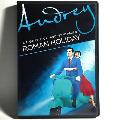 Roman Holiday (DVD, 1953) Like New !   Audrey Hepburn   Gregory Peck