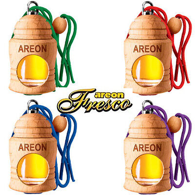 Car Air Freshener Liquid Bottle Hanging Scent Natural Fragrance Areon Perfume