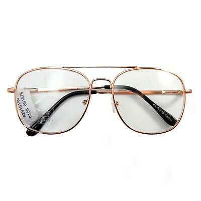 c223f1ecd229 Urban Outfitters Clear Glasses Readers 80's Retro Aviator Hipster Frames