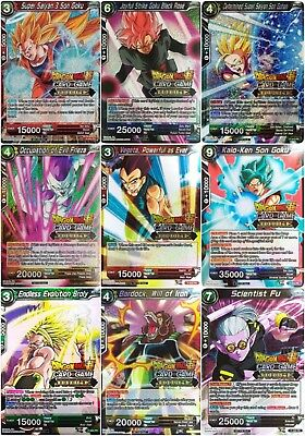 Dragon Ball Super Trading Card Game - Judge Promos - Choose Your Card SINGLES