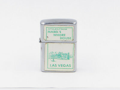 "Las Vegas ""Stolen From Mabel's Whore House"" Hi-Lite Lighter"