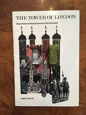 The Tower of London Official Guidebook includes map (1971)