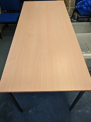 Beech 3× Office Table, Meeting, Classroom, School, Canteen Tables
