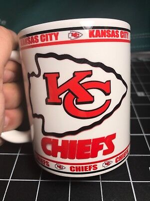 Custom Made Kansas City Chiefs 11oz Coffee Cup with your name.