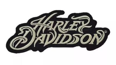 Harley Davidson Motorcycle Patch Sew On Iron On Biker Patch