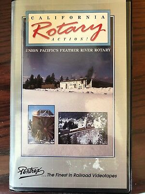 California Rotary Action - UP's Feather River Rotary - Railroad VHS