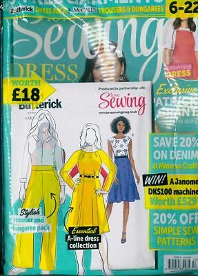 Love Sewing Magazine #53 - July 2018 In Sealed Pack With & Free Patterns  ~