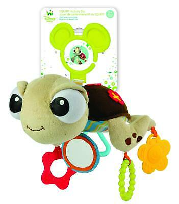 """Disney Baby Finding Nemo Squirt On the Go Teether Activity Toy, 12"""""""