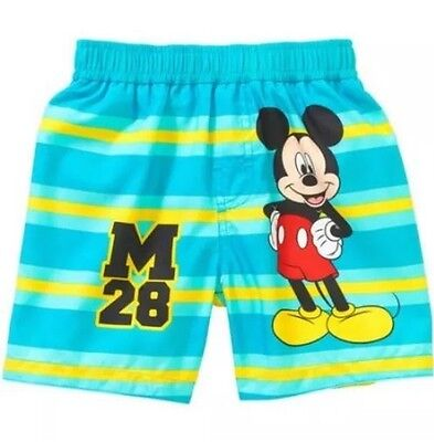 0eedc8b692 DISNEY BABY MICKEY Mouse Infant Boys Swim Trunks Sizes 0/3M-3/6M-6 ...