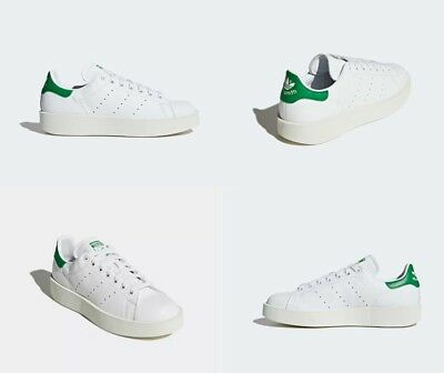 separation shoes a3343 69d3a Adidas Stan Smith Bold White   Green Womens Size 7.5 US NIB S32266