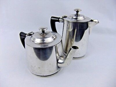 Vintage Restaurant Hotel Teapot and Coffee Service Set by Benedict Proctor