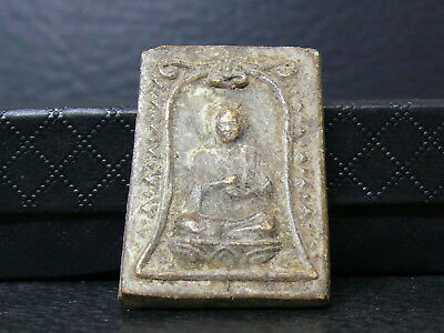 (dV177)    Buddhism: Old relic amulet temple offering