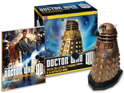 Dalek Collectible Figurine and Illustrated Book 2012 Running Press NEW Dr WHO
