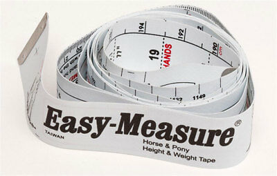 Easy-Measure Weighband Horse And Equestrian