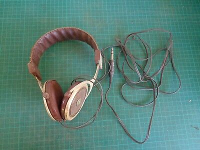 Vintage earphones for old style stereo or tape decks MARUNI PRO 100