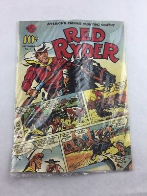 Red Ryder #1 Reprinted 1989 Fascimile of First Ed. Comic Book