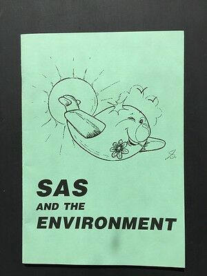 SAS and the Environment Booklet Airlines Scandinavian