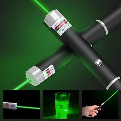 Military High Power 650nm 1mW Green Laser Pointer Laser Pen Visible Beam Light