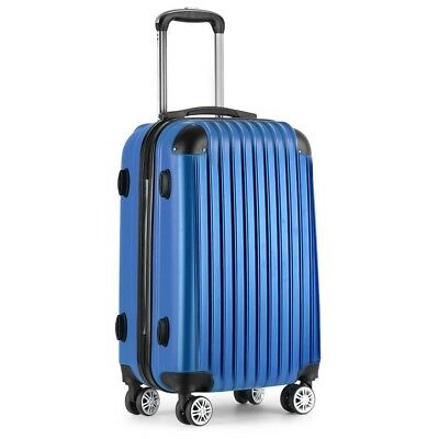20 inch Luggage Travel Cabin Bag Suitcase Spinner Inch Case Hard 40l Lock