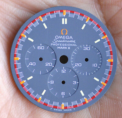 Omega Speedmaster Professional Mark II -Zifferblatt