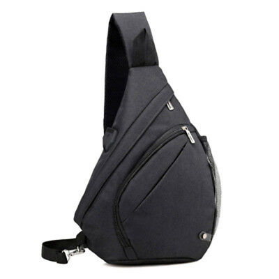 Large Capacity Chest Bag For Men Nylon Sling Bag Casual Crossbody Bags For Y3W1