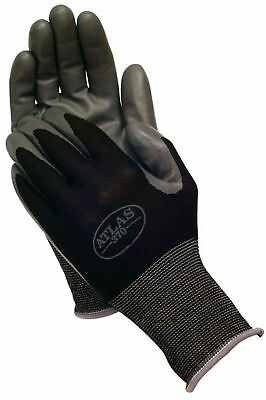 Atlas 370 Showa Black Large Nitrile Gardening Work Gloves 6-Pairs New With Tag