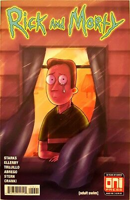 Rick and Morty #36B (March 2018) Oni Press (Mady G Variant)