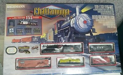 Bachmann Chattanooga Complete & Ready To Run HO Scale Electric Train Set EZ Trac