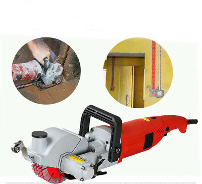 Electric Wall Chaser Groove Cutting Wall Slotting Machine 220V New Arrival