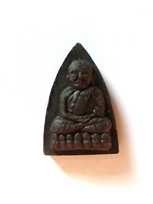 Lp Tuad - Hlang Yant - Wat Phrathat Ruang Rong - 100% Genuine Thai Amulet
