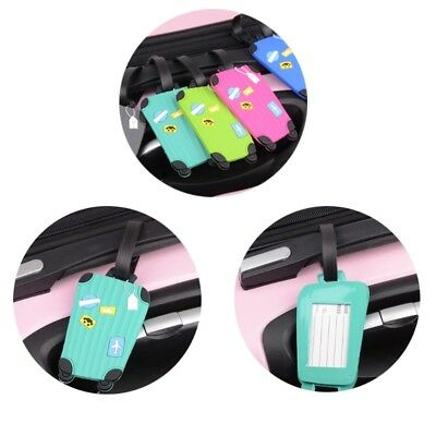 Travel Luggage Tags Labels Strap Address Name Tel Baggage Suitcase Bag Secure
