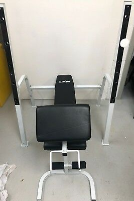 Klarfit Squat Rack, Bench Press and Bar Curl, 3 in 1