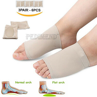 PEDIMEND™ Gel Fallen Arches Support Pad Cushion 3PAIR Heel Spur Arch Pain Relief